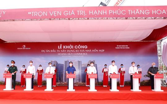 Chủ tịch Quốc hội dự lễ khởi công 3 tòa nhà trên 3.700 tỉ đồng - Ảnh 1.