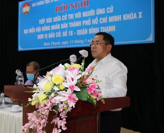 Sớm có hướng giải quyết dự án rạch Xuyên Tâm tại Hội nghị tiếp xúc cử tri Quận Bình Thạnh - Ảnh 1.
