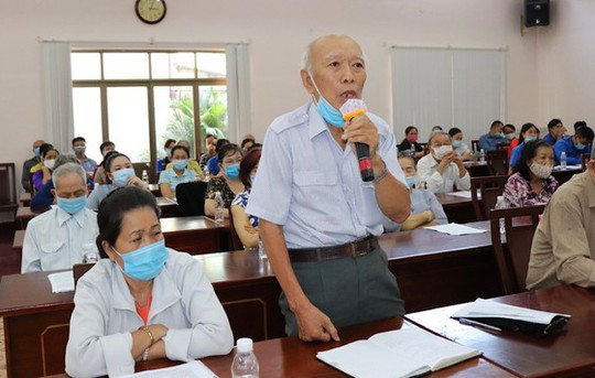 Sớm có hướng giải quyết dự án rạch Xuyên Tâm tại Hội nghị tiếp xúc cử tri Quận Bình Thạnh - Ảnh 2.