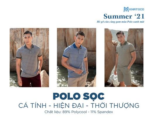 Polo Khatoco - Những sắc màu mùa hè - Ảnh 3.