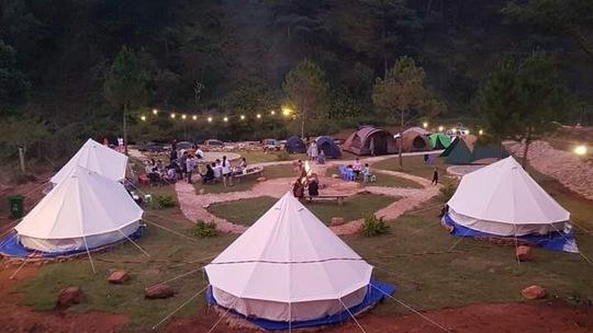 Du lịch cắm trại dã ngoại lên ngôi - Ảnh 4.