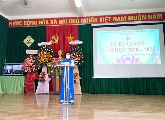 Hơn 3 tỉ đồng ủng hộ Trung tâm nuôi dạy trẻ khuyết tật Võ Hồng Sơn - Ảnh 4.