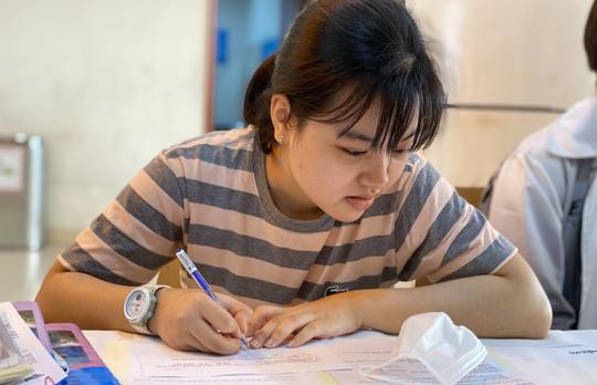 ĐHQG TP HCM mở cổng đăng ký xét tuyển nguyện vọng bằng kết quả thi Đánh giá năng lực - Ảnh 1.