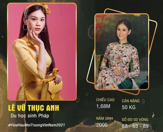 Thạc sĩ Trường ĐH FPT thi Hoa hậu Môi trường Việt Nam 2021 - Ảnh 3.