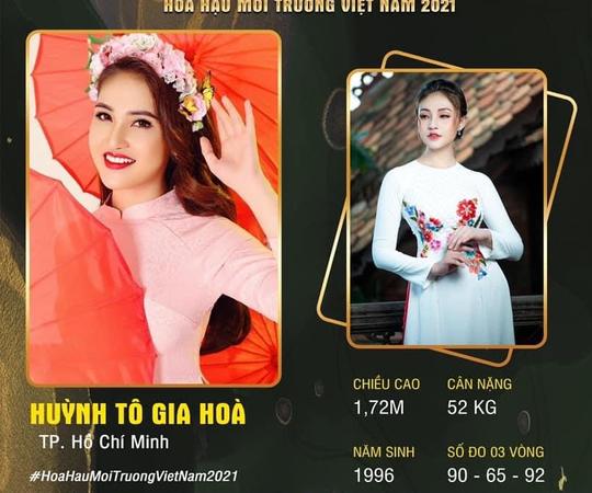 Thạc sĩ Trường ĐH FPT thi Hoa hậu Môi trường Việt Nam 2021 - Ảnh 1.