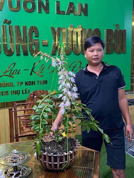 Ông chủ vườn lan Hữu Xướng chia sẻ bí quyết trồng lan thành công