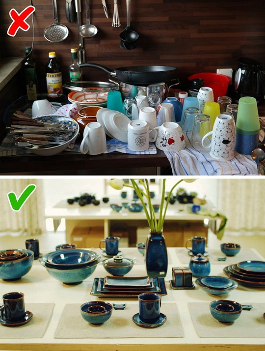 8 mẹo nhỏ giúp căn bếp lung linh như trên bìa tạp chí - Ảnh 1.