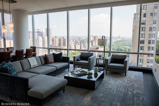 Choáng với nội thất bên trong tòa nhà đắt đỏ nhất New York - Ảnh 3.