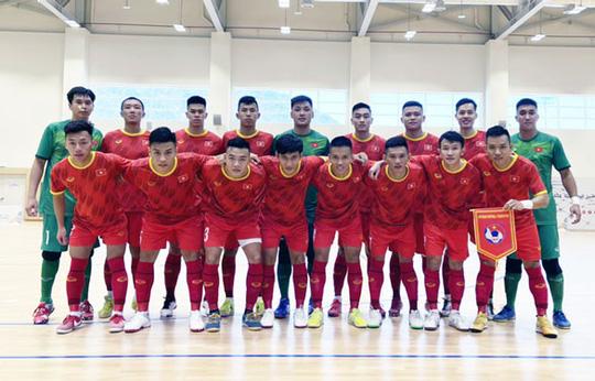 Tuyển futsal Việt Nam chạy đà hoàn hảo - Ảnh 1.