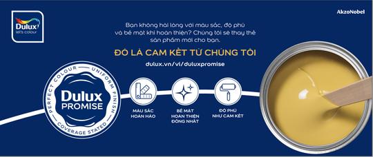 """AkzoNobel giới thiệu """"DULUX PROMISE - CAM KẾT 3 CHUẨN"""" tại Việt Nam - Ảnh 1."""