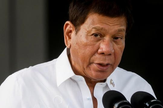 Tổng thống Duterte ra lệnh cấm về biển Đông với nội các - Ảnh 1.