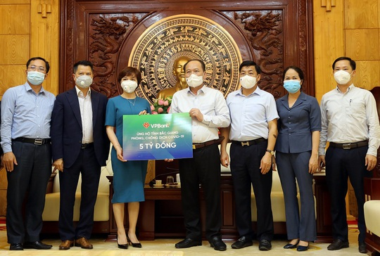 VPBank tiếp tục ủng hộ 10 tỉ đồng phòng, chống dịch Covid-19 - Ảnh 1.