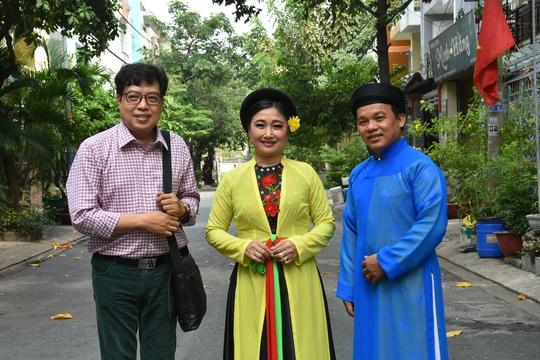 Chương trình Mai Vàng nhân ái thăm Nghệ nhân quan họ Trung Kiên - Ảnh 5.