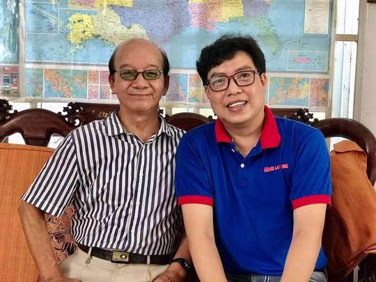 Chương trình Mai Vàng nhân ái thăm Nhà giáo Nhân dân Hà Quang Văn và nhạc sĩ Phùng Trọng - Ảnh 4.