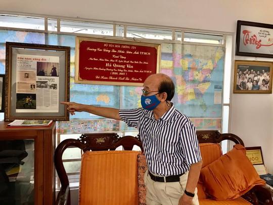 Chương trình Mai Vàng nhân ái thăm Nhà giáo Nhân dân Hà Quang Văn và nhạc sĩ Phùng Trọng - Ảnh 2.