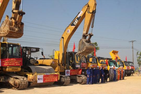 Khởi công dự án thành phần cao tốc Bắc - Nam hơn 11.000 tỉ đồng - Ảnh 4.