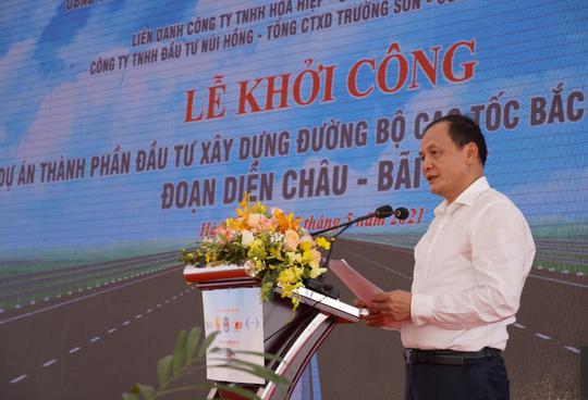 Khởi công dự án thành phần cao tốc Bắc - Nam hơn 11.000 tỉ đồng - Ảnh 2.