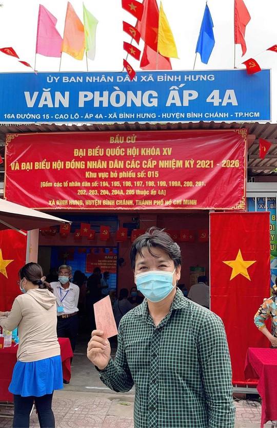 Nghệ sĩ háo hức đi bầu cử - Ảnh 8.