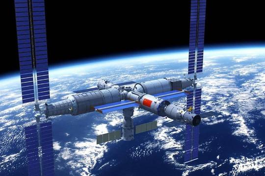 Mỹ lo cánh tay robot nâng được 20 tấn của Trung Quốc ngoài vũ trụ - Ảnh 1.