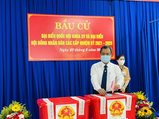 Bỏ phiếu tại Bình Dương, Bình Phước, Tây Ninh - Ảnh 2.