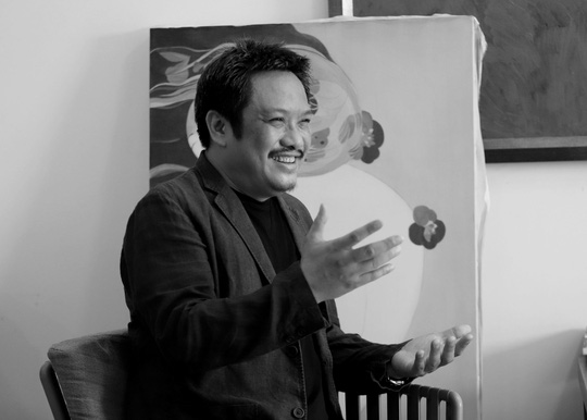 Ra mắt sách tranh lụa khỏa thân đầu tiên của Việt Nam - Ảnh 1.