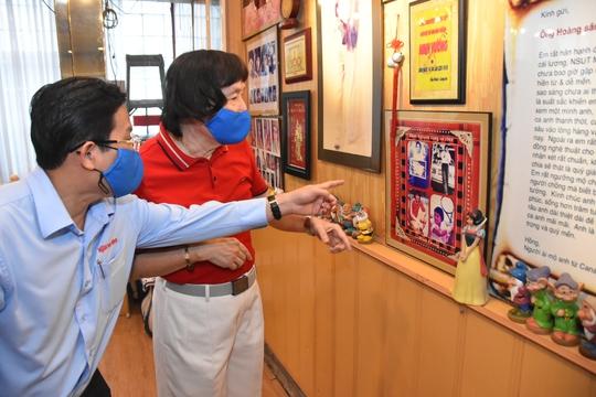 Mai Vàng nhân ái thăm NSND Kim Cương và NSND Minh Vương - Ảnh 6.