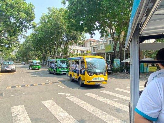 Cần Giờ sắp có tuyến buýt điện chạy từ  5 giờ đến 22 giờ mỗi ngày - Ảnh 1.