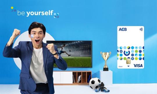 ACB chào sân bộ thẻ ngân hàng mới - tinh thần Be Yourself - Ảnh 1.