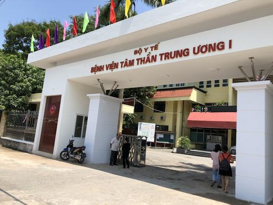 Ai điều hành Bệnh viện Tâm thần Trung ương sau khi ông Vương Văn Tịnh bị cách chức? - Ảnh 1.