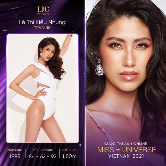 Dàn thí sinh nổi bật cuộc thi ảnh online Hoa hậu Hoàn vũ Việt Nam 2021 - Ảnh 2.