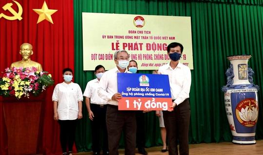 Tập đoàn Địa ốc Kim Oanh ủng hộ 7 tỉ đồng mua vắc-xin phòng, chống Covid-19 - Ảnh 3.