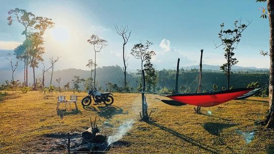 Vào rừng cắm trại trốn Covid-19 - Ảnh 2.
