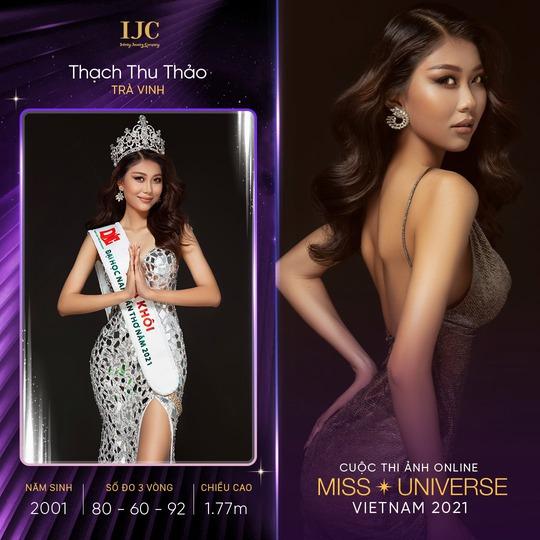 Dàn thí sinh nổi bật cuộc thi ảnh online Hoa hậu Hoàn vũ Việt Nam 2021 - Ảnh 4.