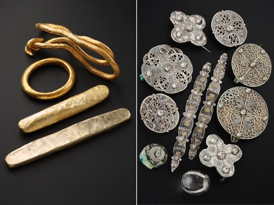 Dò kim loại, đào được kho báu đầy vàng bạc từ 2 thế giới - Ảnh 1.