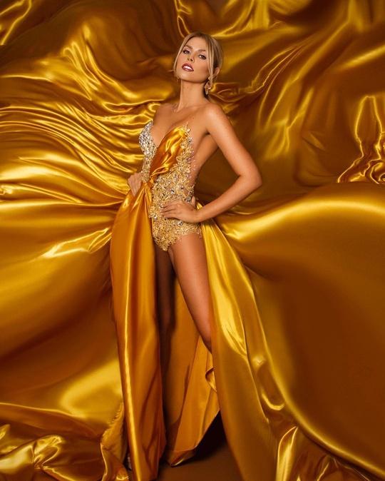 Cận cảnh nhan sắc tân Hoa hậu Siêu quốc gia Venezuela - Ảnh 4.
