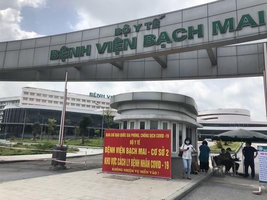 Chuyển 151 F1 của ca bệnh Covid-19 siêu lây nhiễm đến Bệnh viện Bạch Mai cơ sở 2 - Ảnh 22.