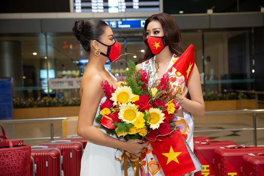 Hoa hậu Khánh Vân lên đường sang Mỹ chinh phục Miss Universe - Ảnh 2.