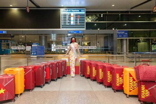 Hoa hậu Khánh Vân lên đường sang Mỹ chinh phục Miss Universe - Ảnh 4.