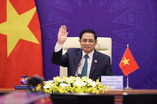 """Thủ tướng: Việt Nam kiên quyết không chấp nhận mô hình """"tăng trưởng trước, dọn dẹp sau"""" - Ảnh 1."""