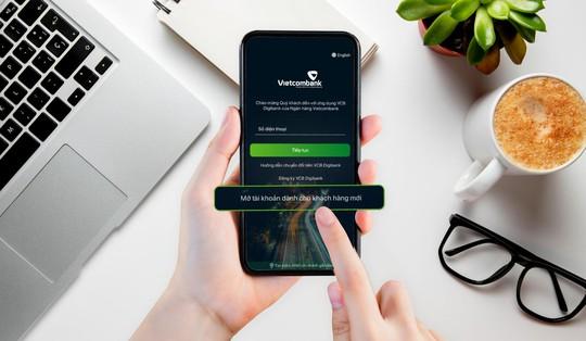 Vietcombank ra mắt dịch vụ mở tài khoản trực tuyến với công nghệ đột phá - Ảnh 1.
