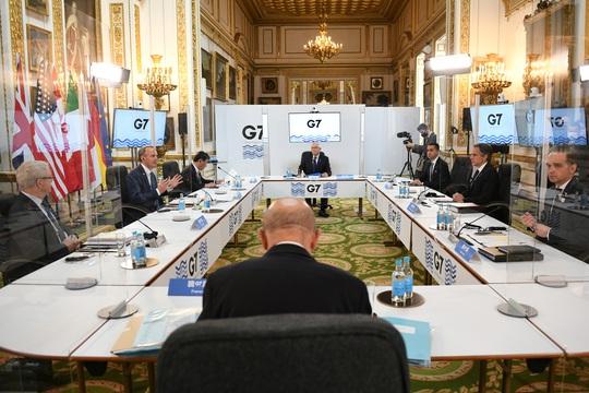 Trung Quốc phủ bóng hội nghị G7 - Ảnh 1.