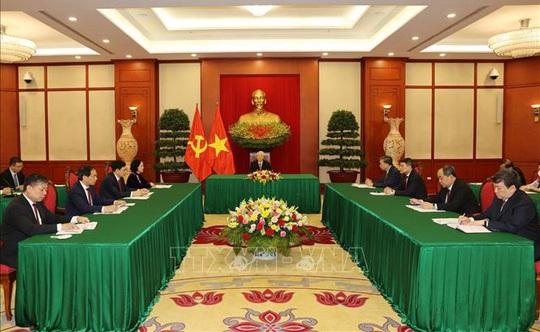 Tổng Bí thư Nguyễn Phú Trọng điện đàm với Bí thư thứ nhất Đảng Cộng sản Cuba - Ảnh 2.