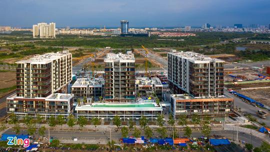 Giá căn hộ TP HCM tăng gần 15% sau một năm - Ảnh 1.