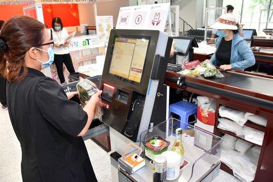 Công nghệ giúp giảm dần tiếp xúc khi mua sắm - Ảnh 1.