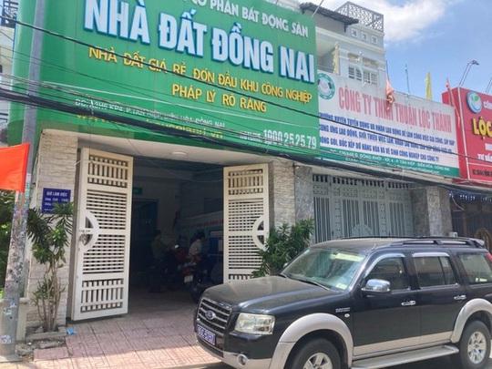 Bắt thêm 3 lãnh đạo Công ty Cổ phần BĐS Nhà đất Đồng Nai - Ảnh 3.