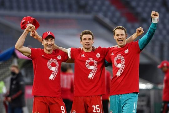 Bayern Munich lập kỷ lục vô địch Bundesliga - Ảnh 6.