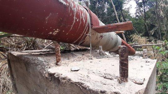 Công trình cấp nước 100 tỉ chưa xong đã hỏng, chủ đầu tư bất lực! - Ảnh 1.