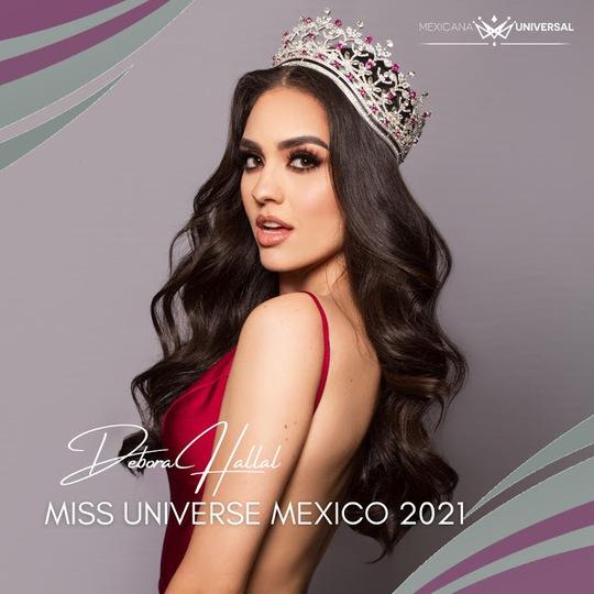 Bổ nhiệm Hoa hậu Hoàn vũ Mexico 2021 - Ảnh 1.