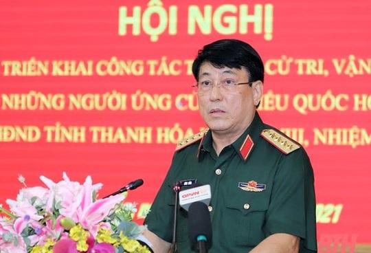 Đại tướng Lương Cường trúng cử đại biểu Quốc hội khóa XV tại tỉnh Thanh Hóa - Ảnh 1.