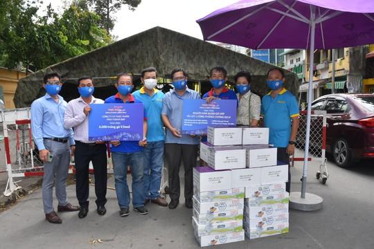 Chương trình Thực phẩm miễn phí cùng cả nước chống dịch đến quận Gò Vấp - Ảnh 1.